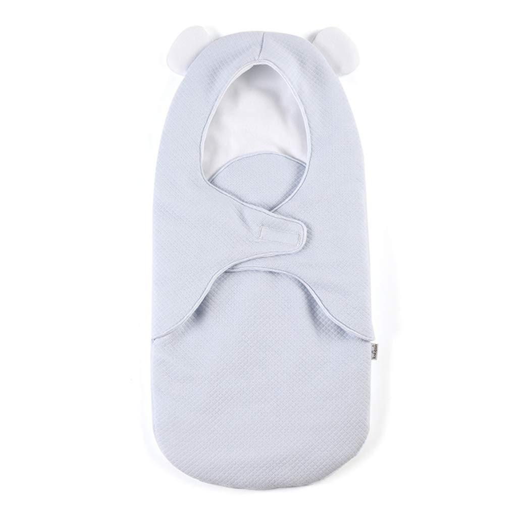 KAKIBLIN 2 in 1 Baby Sleeping Bag, Portable Baby Carrier Receiving Dream Blanket for Newborn Boys and Girls 0-12 Months, Blue