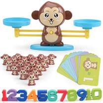 VIPAMZ Learning Games Monkey Balance Math Toy for Girls & Boys. Fun Gift for Children's STEM Educational Ages 3+