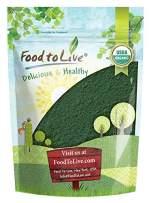 Organic Spirulina Powder, 8 Ounces — Non-GMO, Kosher, Raw Blue-Green Algae, Vegan Superfood, Bulk, Non-Irradiated, Pure Vegan Green Protein, Rich in Vitamins and Minerals, Great for Drinks