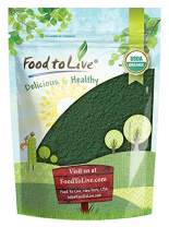 Organic Spirulina Powder, 4 Pounds — Non-GMO, Kosher, Raw Blue-Green Algae, Vegan Superfood, Bulk, Non-Irradiated, Pure Vegan Green Protein, Rich in Vitamins and Minerals, Great for Drinks