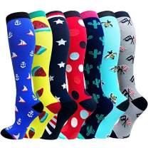 20-30mmhg Compression Socks for Men & Women-Best for Running,Athletic,Medical,Pregnancy and Travel
