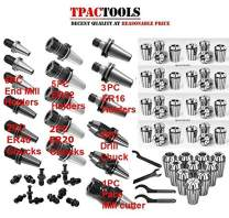 HAAS CAT40 Tooling Package ER16 ER32 Collet Chuck Collets Drill Chuck End Mill Holder Face Mill
