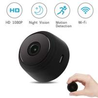 Smyidel Spy Camera Wireless Hidden WiFi Mini Camera 1080P HD Home Security Cameras with Motion Activated/Night Vision
