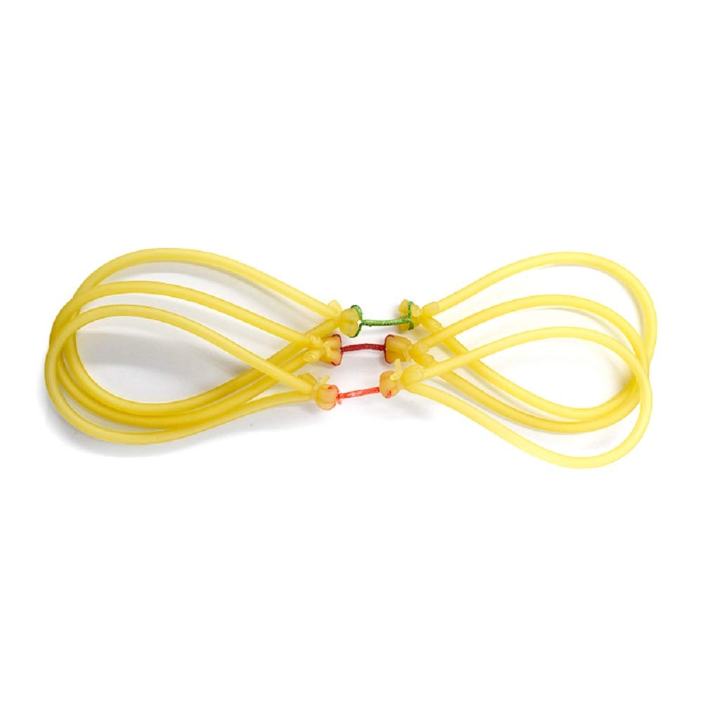 Piaoyu Inner Rubber Band Replacement for Ordinary and Fish Shooting Rubber Band for Outdoor Hunting Games