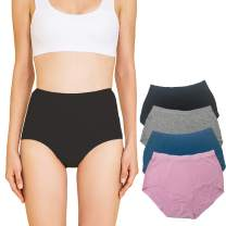 ARONAS 4 Pack Womens Seamless Underwear Panties Super Soft Modal Microfiber Breathable Bikini Hipster Panty for Teen Girls