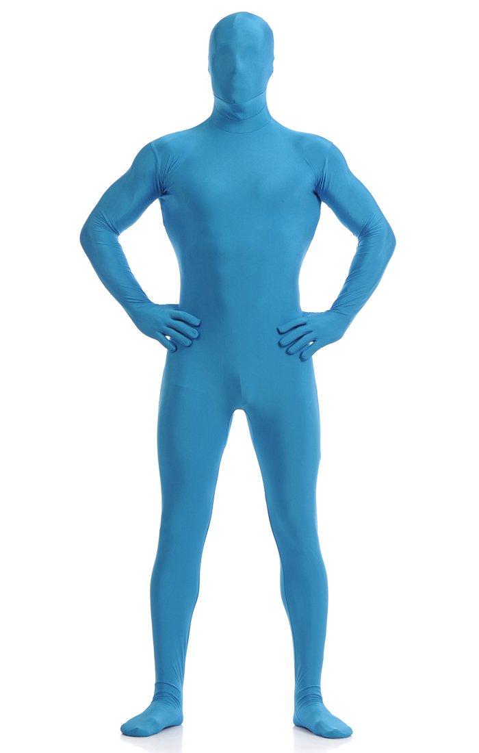 Ainiel Unisex Full Lycra Spandex Skin-Tight Bodysuit