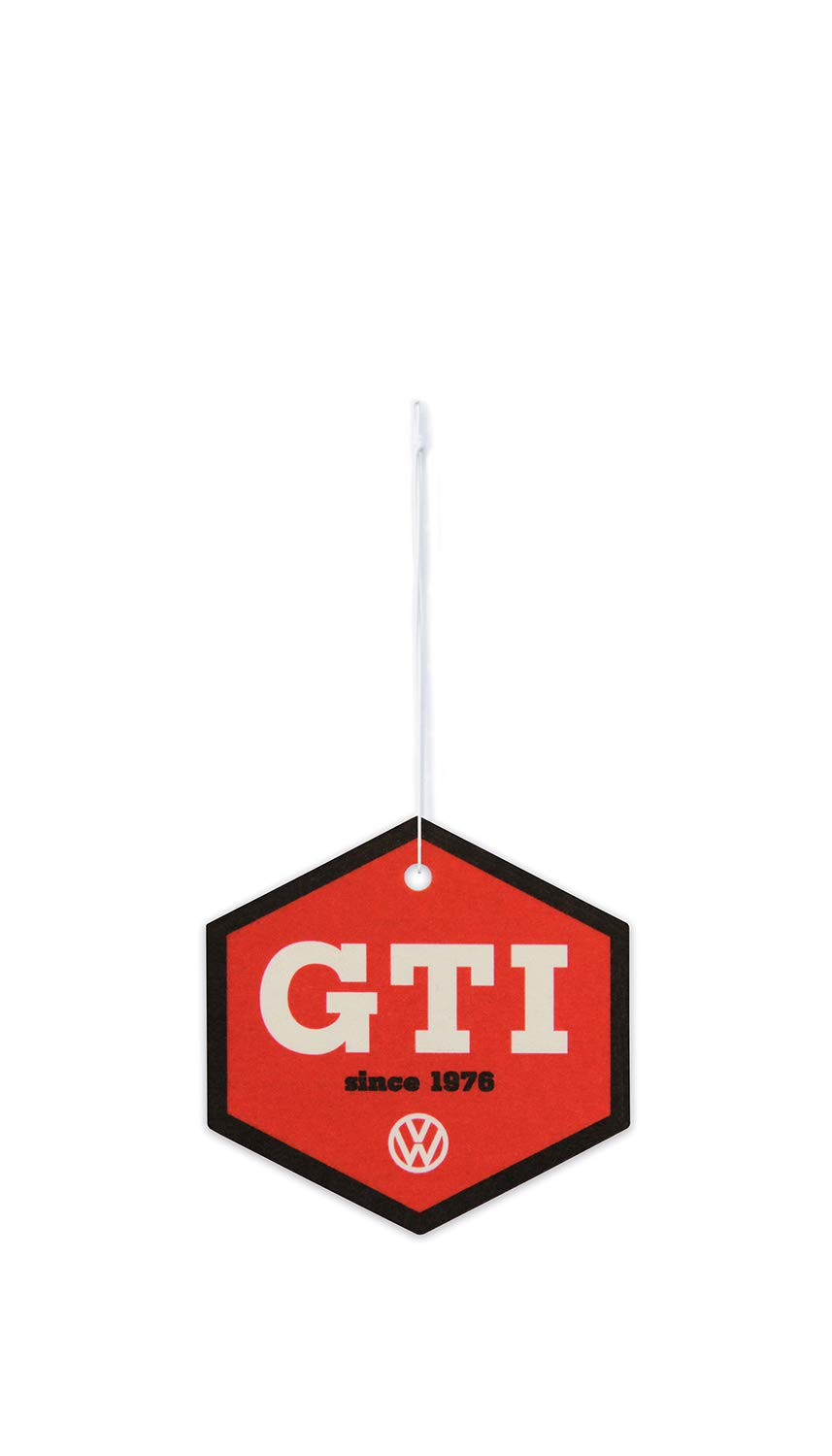 BRISA VW Collection - Volkswagen Golf GTI Scented Car Air Freshener Fragrance Deodorizer for Car/Auto or Home (Hexagon/Cocos/Since 1967)