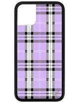 Wildflower Limited Edition Cases for iPhone 11 (Lavender Plaid)