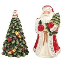 Spode Christmas Tree Salt & Pepper Red Santa/Tree