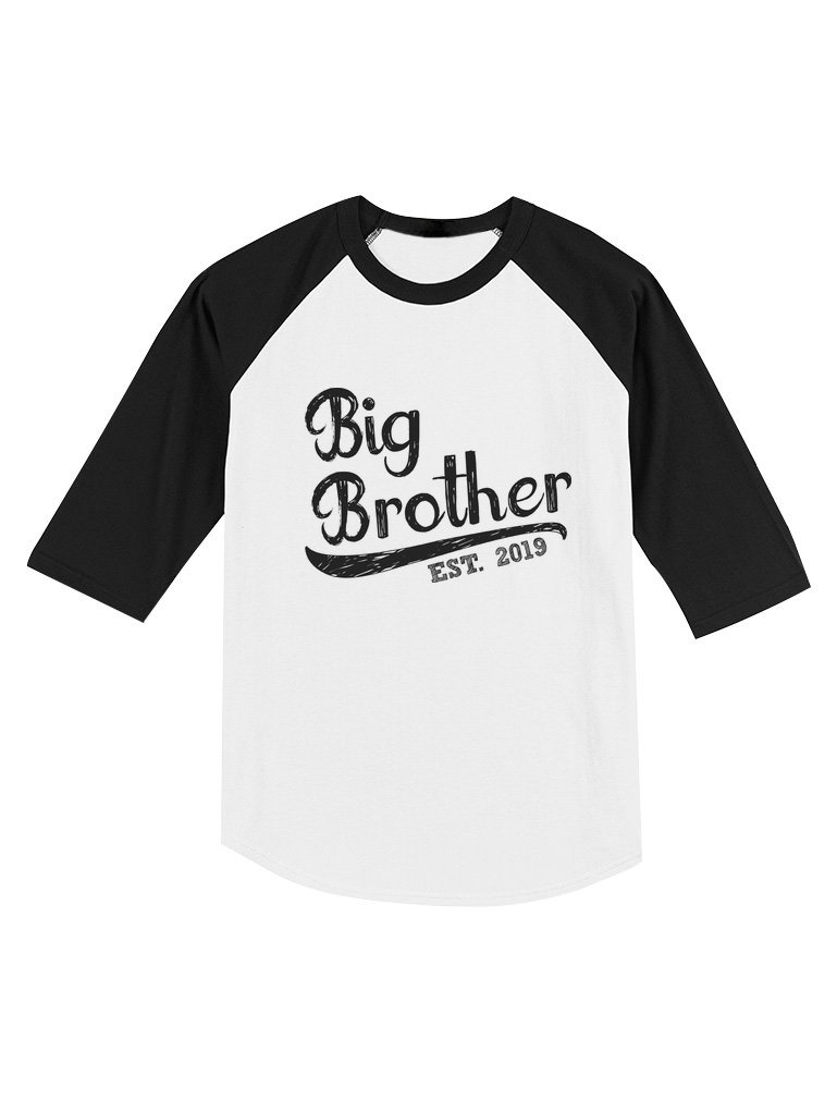 Big Brother Shirt for Toddler 2020 Raglan 3/4 Sleeve Baseball Tee