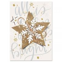 Christmas Star Religious Christmas Cards- Set of 18 Holiday Greeting Cards