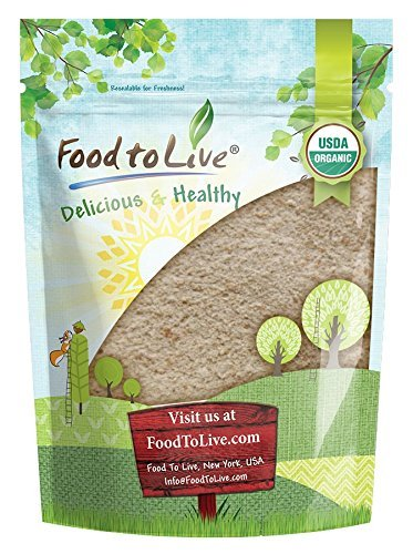 Organic Spelt Flour by Food to Live (Whole Grain, Non-GMO, Stone Ground, Raw, Vegan, Bulk, Great for Baking Bread, Product of the USA) — 4 Pounds
