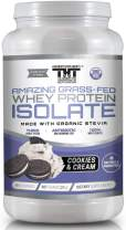 Amazing Grass Fed Whey Protein Powder (30 Serving, Cookies & Cream)