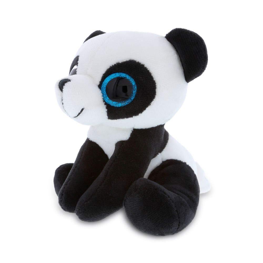 Dollibu Sparkling Big Eye Panda Wild Stuffed Animal Soft Plush Collection, Storytime Buddy, Panda Bear Animal Toy Plush Figure, Peekaboo Critters, Nursery Baby Toys for Girls & Boys - Large Panda