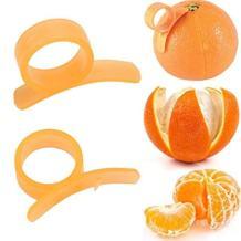 Affordable Orange Peeler Tool, Citrus Fruit Slicer, Kitchen Gadget (2)