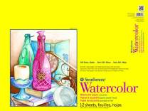 """Strathmore 300 Series Watercolor Pad, Cold Press, 18""""x24"""", 12 Sheets"""