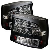 Spyder 5002273 Dodge Charger 06-08 LED Tail Lights - Black