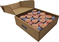 100 Count Smucker's Peanut Butter, Concord Grape Jelly, and Strawberry Jam Individually Packed in Single Serving Cups (BAM Tote Bag included)…