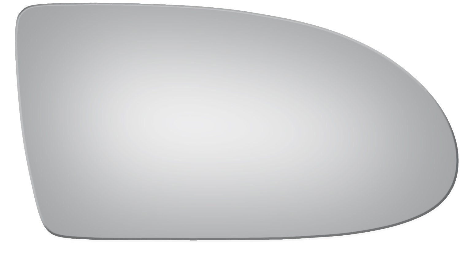 Burco 5255 Convex Passenger Side Manual Replacement Mirror Glass for 06-09 Hyundai Accent (2006, 2007, 2008, 2009)