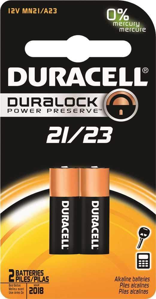 Duracell MN27BPK09 Alkaline Keyless Entry Battery, 12.0V (Case of 6) (5001878)