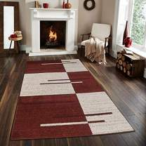 Msrugs Monaco Collection Red Area Rugs for Living Room 3'x5' - 5'x7' - 8'x10'