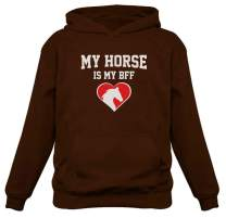 TeeStars - My Horse is My BFF Gift for Horse Lovers Women Hoodie