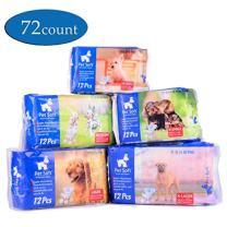 Pet Soft Disposable Female Puppy Dog Diaper 12-72pcs