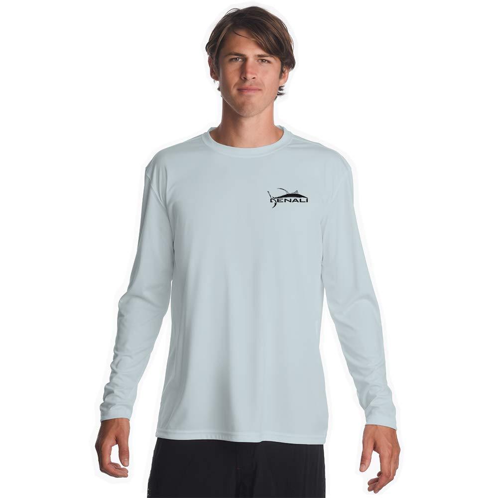 Denali Performance Men's Teaser-Tournament UPF 50+ ProtectUV Mega Solar Long Sleeve T-Shirt with Logo