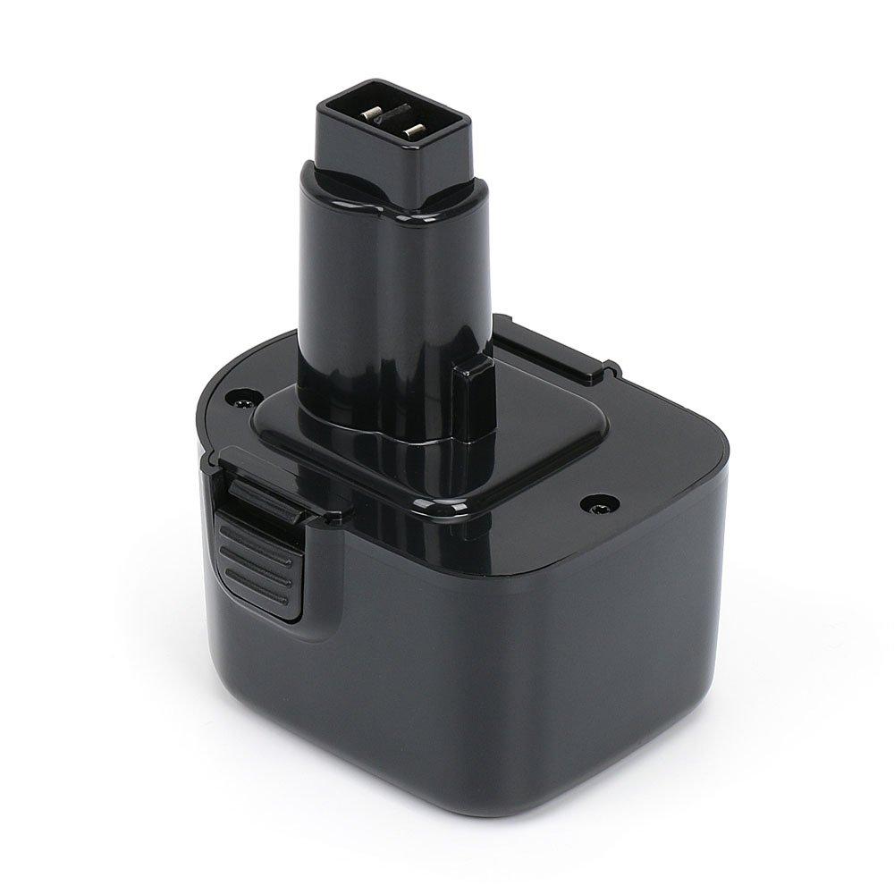 REEXBON 12 Volt 2.0Ah / 2000mAh NiCd Battery for Dewalt DW9072 DW9071 DC9071 DW980 DW953 DW972 DC727 DW930 DW979 DW927 DC528 DW90