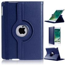 Apple iPad Mini 1/2/3 Case, RKINC 360 Degree Rotating Stand Case Cover with Auto Sleep/Wake Feature for iPad Mini 1/2/3 (11 Colors) This case is for Apple iPad Mini 1/2/3 (Navy Blue)