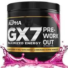 Keto Pre Workout - Gx7 - Sugar Free 30 Servings Watermelon Flavor