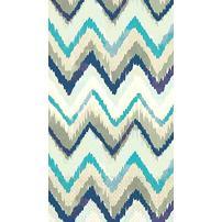 "Seaside Stripe Guest Paper Towels   16 Ct.   8"" x 4"""