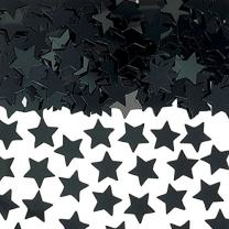 Black Mini Stars Confetti | .25 oz. | Party Decor