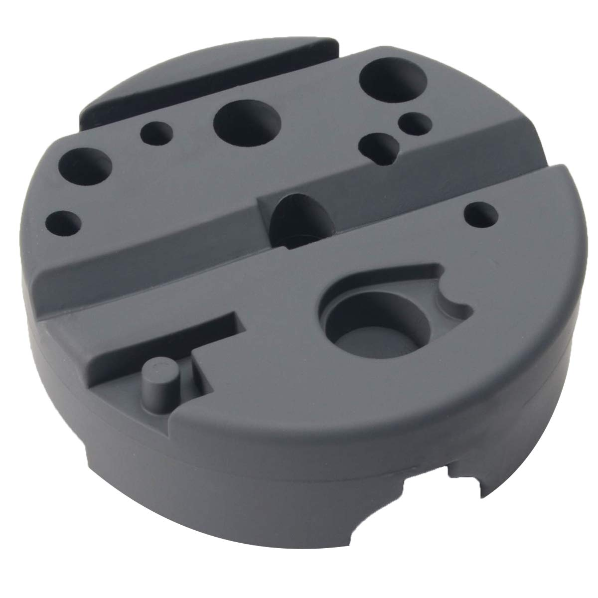 W WIREGEAR Bench Block Universal Gun Bench Block Two-Sided Tool with a Non-Slip Mat Made of Durable Material Ideal for M1911 10/22s Pistol and Other Handguns Use for Gunsmithing