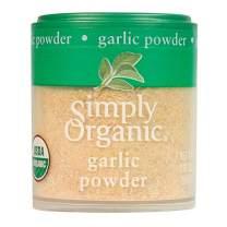 Simply Organic Garlic Powder, Certified Organic   0.92 oz   Pack of 6   Allium sativum L.