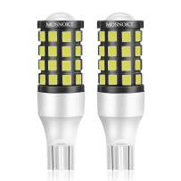 MOSNOKT T15 912 W16W 921 LED Bulbs for Back Up Reverse Lights CANBUS Super Bright Lamp 6000k White Pack of 2