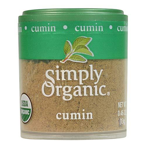 Simply Organic Ground Cumin Seed, Certified Organic   0.46 oz   Pack of 6   Cuminum cyminum L.