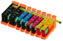 8 Pack Compatible Lexmark 100XL / #100 / 100 High Yield 2 Black, 2 Cyan, 2 Magenta, 2 Yellow for use with Lexmark Impact S301, Impact S305, Interact S605, Interpret S405, Intuition S505, Pinnacle Pro901, Interact S606, Platinum Pro905, Prestige Pro805, Prevail Pro705, Prospect Pro205, Genesis S815, Genesis S816. Ink Cartridges for inkjet printers. 14N0820 / 14N1068 , 14N0900 / 14N1069 , 14N0901 / 14N1070 , 14N0902 / 14N1071 Blake Printing Supply