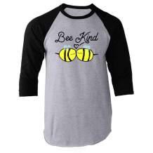 Be Kind Choose Kindness Teacher Cute No Bullies Raglan Baseball Tee Shirt
