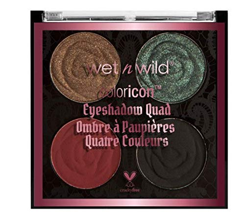 wet n wild Rebel Rose Color Icon Eyeshadow Quad, House Of Thorns