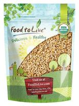 Organic Pearl Barley, 1 Pound - Hulled, Non-GMO, Kosher, Raw, Vegan