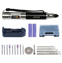 ELEOPTION Engraver Pen Engraving Pen Rechargable Electric Grinder Rotary Tool and Accessories Kit for DIY Woodworking, Carving, Engraving, Drilling Jewelry Metal Glass Wooden Carved Polished