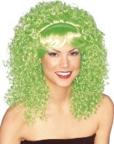Candy Girl Curly with Bangs Wig