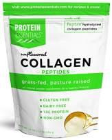 Protein Essentials Collagen Peptides Powder, Grass-Fed, Paleo & Keto Friendly, NonGMO & Gluten Free Unflavored 16 oz
