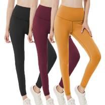 HIGHDAYS High Waisted Leggings for Women - Plus Size Elastic Opaque Yoga Workout Leggings