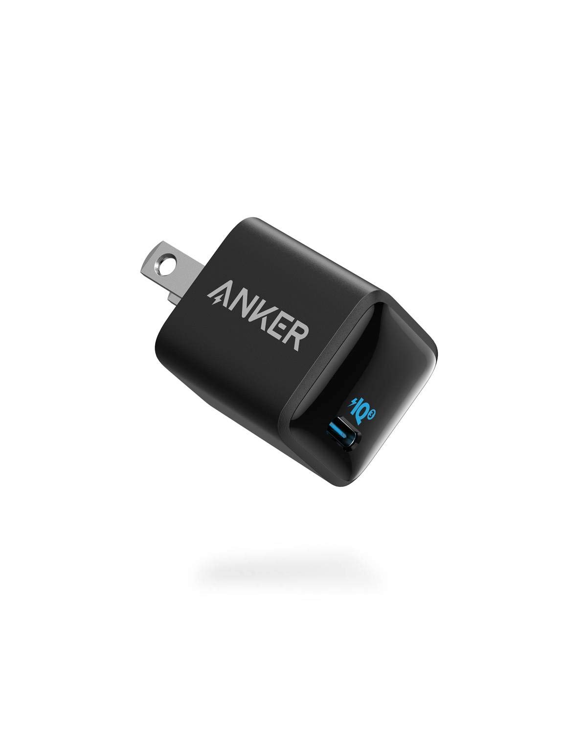 USB C Charger, Anker Nano Charger 20W PIQ 3.0 Durable Compact Fast Charger, PowerPort III Charger for iPhone 12/12 Mini/12 Pro/12 Pro Max/11, Galaxy, Pixel 4/3, iPad Pro (Cable Not Included)