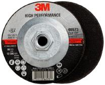 3M High Performance Cut-Off Wheel, 66573, T27 Quick Change, 4.5 in x .045 in x 5/8-11 in