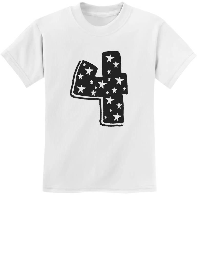 Four Years Old Boy/Girl Birthday Gift Idea - I'm 4 Superstar Kids T-Shirt