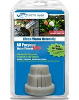 Healthy Ponds 52210 All Purpose Water Cleaner 100 - Reloadable Dispenser with 2 30-Day Refills; Treats up to 100 Gallons for 60 Days