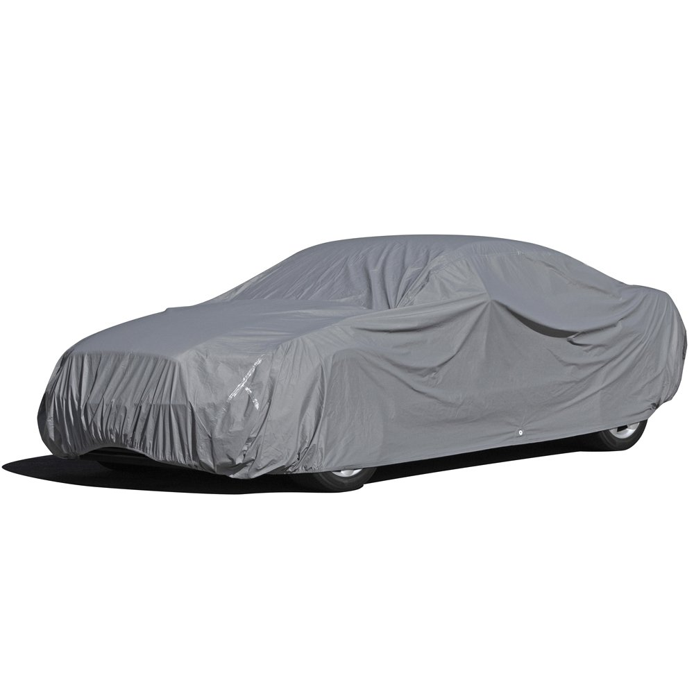 OxGord Executive Storm-Proof Car Cover - Water Resistant 7 Layers -Developed for Any All Conditions - Ready-Fit Semi Custom - Fits up to 168 Inches